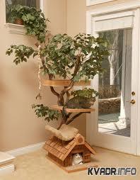 Дерево-дом для вашей кошки